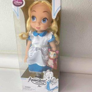 "Alice 16"" Doll Animators' Collection Disney Toy"
